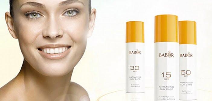 Anti Aging Sun Care